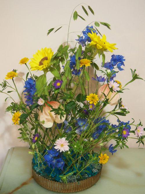 花ギフト|フラワーギフト|誕生日 花|カノシェ話題|スタンド花|ウエディングブーケ|花束|花屋|P7050679