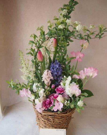 花ギフト|フラワーギフト|誕生日 花|カノシェ話題|スタンド花|ウエディングブーケ|花束|花屋|46594
