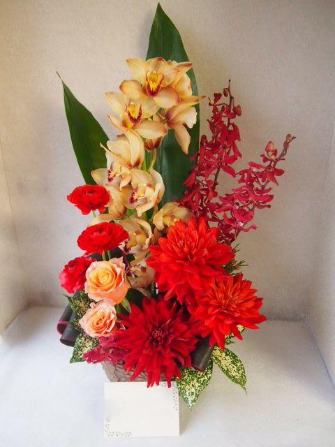 花ギフト|フラワーギフト|誕生日 花|カノシェ話題|スタンド花|ウエディングブーケ|花束|花屋|52513