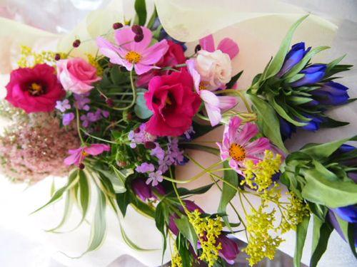 花ギフト|フラワーギフト|誕生日 花|カノシェ話題|スタンド花|ウエディングブーケ|花束|花屋|58107