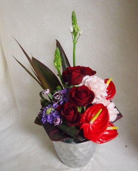 花ギフト|フラワーギフト|誕生日 花|カノシェ話題|スタンド花|ウエディングブーケ|花束|花屋|53422