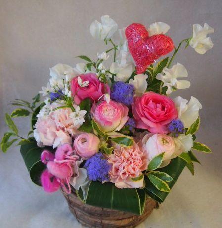 花ギフト|フラワーギフト|誕生日 花|カノシェ話題|スタンド花|ウエディングブーケ|花束|花屋|45346