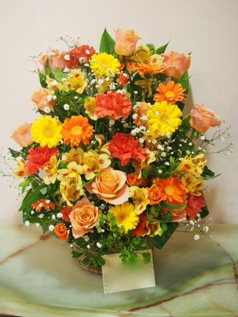 花ギフト|フラワーギフト|誕生日 花|カノシェ話題|スタンド花|ウエディングブーケ|花束|花屋|53482