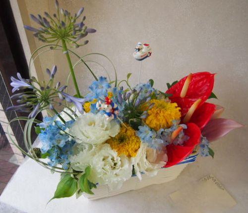 花ギフト|フラワーギフト|誕生日 花|カノシェ話題|スタンド花|ウエディングブーケ|花束|花屋|49087