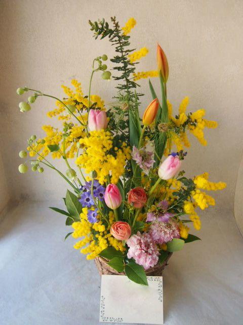 花ギフト|フラワーギフト|誕生日 花|カノシェ話題|スタンド花|ウエディングブーケ|花束|花屋|54098