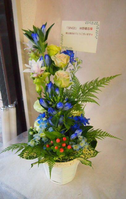 花ギフト|フラワーギフト|誕生日 花|カノシェ話題|スタンド花|ウエディングブーケ|花束|花屋|42716
