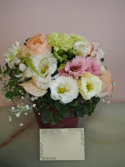 花ギフト|フラワーギフト|誕生日 花|カノシェ話題|スタンド花|ウエディングブーケ|花束|花屋|58073