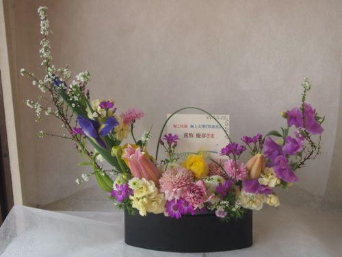 花ギフト|フラワーギフト|誕生日 花|カノシェ話題|スタンド花|ウエディングブーケ|花束|花屋|46558(1)