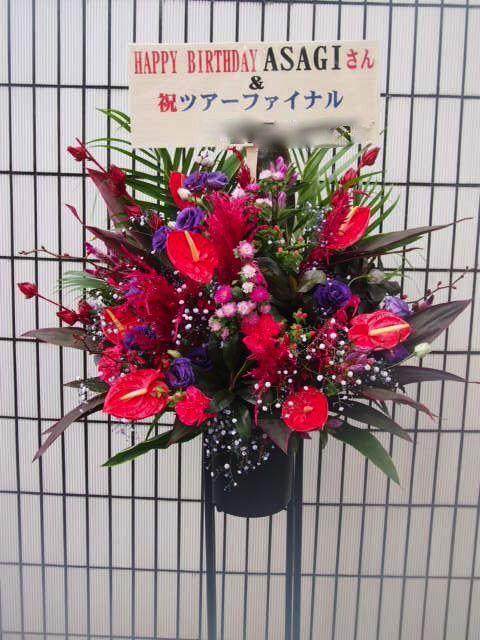 TSUTAYA O-EAST|秋のスタンド花(9月10月)|フラワースタンド スタンド花 カノシェ