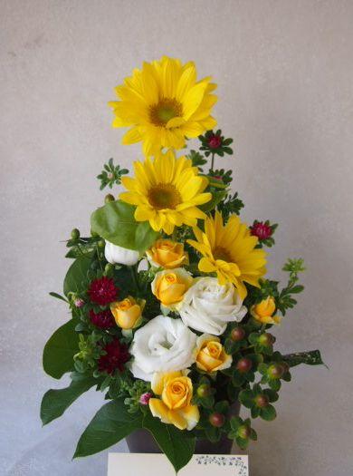花ギフト|フラワーギフト|誕生日 花|カノシェ話題|スタンド花|ウエディングブーケ|花束|花屋|57343