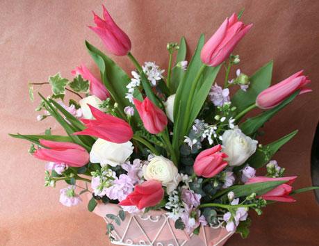 花ギフト フラワーギフト 誕生日 花 カノシェ話題 スタンド花 ウエディングブーケ 花束 花屋 ジャクリーン