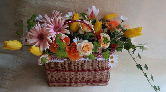 花ギフト フラワーギフト 誕生日 花 カノシェ話題 スタンド花 ウエディングブーケ 花束 花屋 picnic