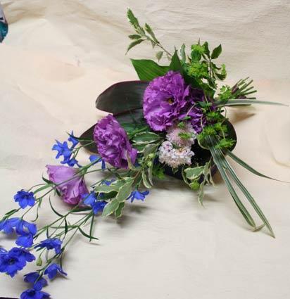 花ギフト|フラワーギフト|誕生日 花|カノシェ話題|スタンド花|ウエディングブーケ|花束|花屋|ijichisan-blue