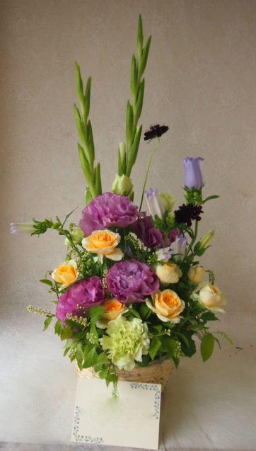 花ギフト|フラワーギフト|誕生日 花|カノシェ話題|スタンド花|ウエディングブーケ|花束|花屋|48057