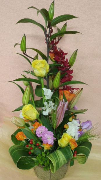 花ギフト|フラワーギフト|誕生日 花|カノシェ話題|スタンド花|ウエディングブーケ|花束|花屋|jun-omakase