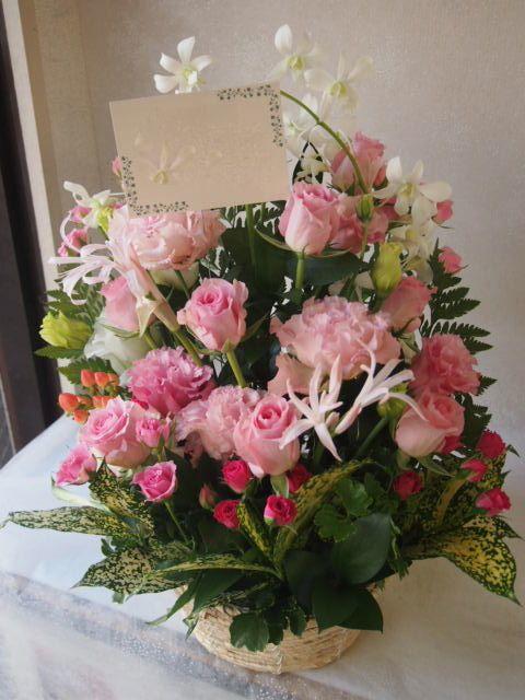 花ギフト|フラワーギフト|誕生日 花|カノシェ話題|スタンド花|ウエディングブーケ|花束|花屋|51395(1)