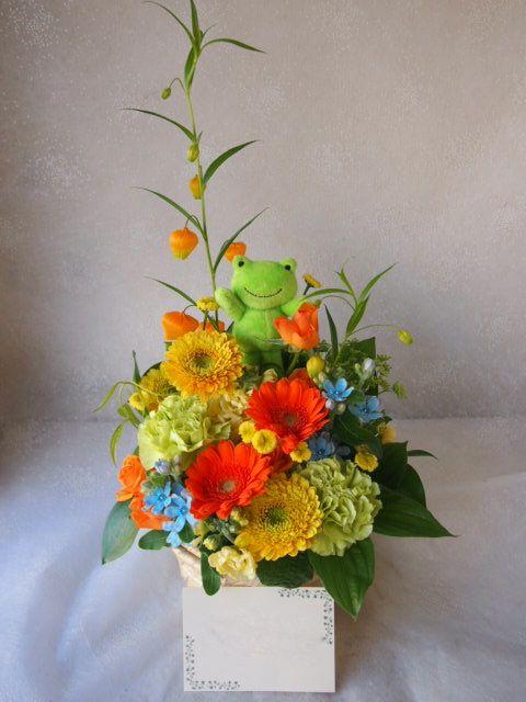 花ギフト|フラワーギフト|誕生日 花|カノシェ話題|スタンド花|ウエディングブーケ|花束|花屋|55134