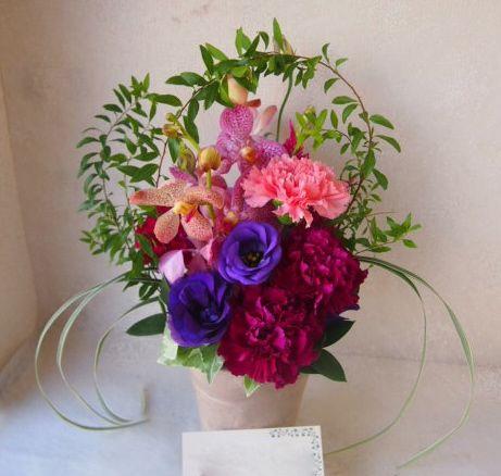 花ギフト|フラワーギフト|誕生日 花|カノシェ話題|スタンド花|ウエディングブーケ|花束|花屋|50752