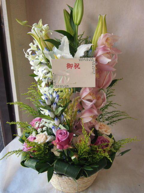 花ギフト|フラワーギフト|誕生日 花|カノシェ話題|スタンド花|ウエディングブーケ|花束|花屋|42927