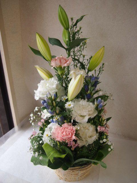 花ギフト|フラワーギフト|誕生日 花|カノシェ話題|スタンド花|ウエディングブーケ|花束|花屋|49644
