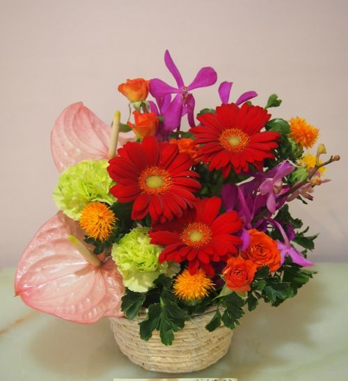花ギフト|フラワーギフト|誕生日 花|カノシェ話題|スタンド花|ウエディングブーケ|花束|花屋|56180(1)