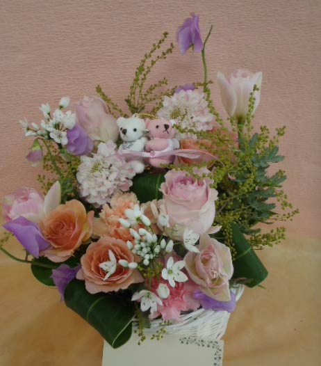 花ギフト|フラワーギフト|誕生日 花|カノシェ話題|スタンド花|ウエディングブーケ|花束|花屋|あゆみくま