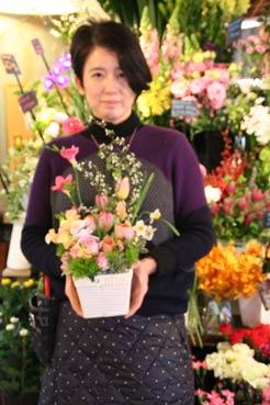 花ギフト|フラワーギフト|誕生日 花|カノシェ話題|スタンド花|ウエディングブーケ|花束|花屋|IMG_6107