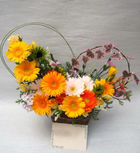 花ギフト|フラワーギフト|誕生日 花|カノシェ話題|スタンド花|ウエディングブーケ|花束|花屋|51954