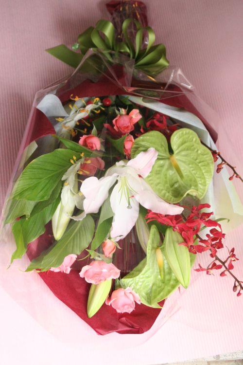 花ギフト|フラワーギフト|誕生日 花|カノシェ話題|スタンド花|ウエディングブーケ|花束|花屋|IMG_1655