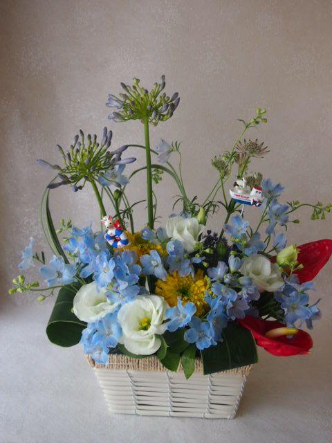 花ギフト|フラワーギフト|誕生日 花|カノシェ話題|スタンド花|ウエディングブーケ|花束|花屋|48780