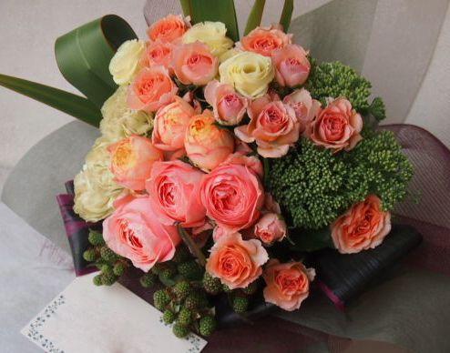 花ギフト|フラワーギフト|誕生日 花|カノシェ話題|スタンド花|ウエディングブーケ|花束|花屋|49275