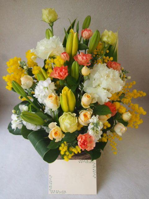 花ギフト|フラワーギフト|誕生日 花|カノシェ話題|スタンド花|ウエディングブーケ|花束|花屋|52949