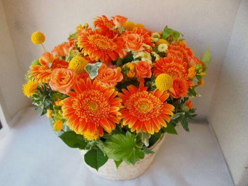 花ギフト|フラワーギフト|誕生日 花|カノシェ話題|スタンド花|ウエディングブーケ|花束|花屋|P5120283