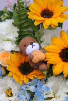 花ギフト|フラワーギフト|誕生日 花|カノシェ話題|スタンド花|ウエディングブーケ|花束|花屋|2014_summer_a1_3