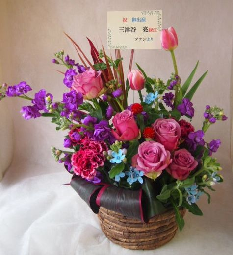 花ギフト|フラワーギフト|誕生日 花|カノシェ話題|スタンド花|ウエディングブーケ|花束|花屋|45282