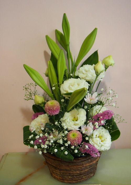 花ギフト|フラワーギフト|誕生日 花|カノシェ話題|スタンド花|ウエディングブーケ|花束|花屋|57054
