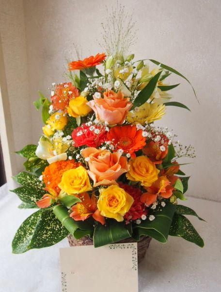 花ギフト|フラワーギフト|誕生日 花|カノシェ話題|スタンド花|ウエディングブーケ|花束|花屋|55037