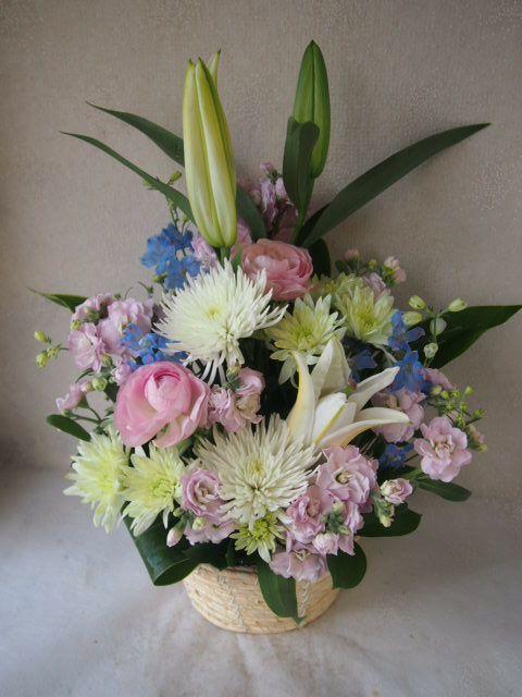 花ギフト|フラワーギフト|誕生日 花|カノシェ話題|スタンド花|ウエディングブーケ|花束|花屋|48753(1)
