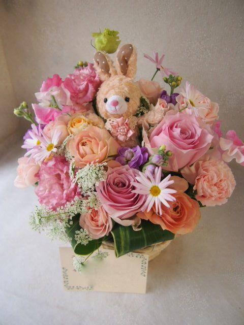 花ギフト|フラワーギフト|誕生日 花|カノシェ話題|スタンド花|ウエディングブーケ|花束|花屋|53174
