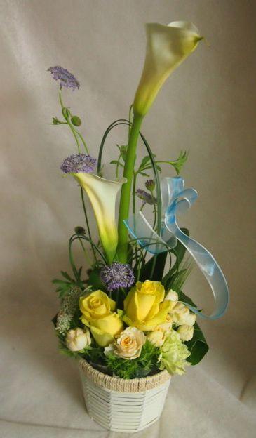 花ギフト|フラワーギフト|誕生日 花|カノシェ話題|スタンド花|ウエディングブーケ|花束|花屋|46277