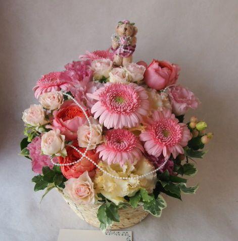 花ギフト|フラワーギフト|誕生日 花|カノシェ話題|スタンド花|ウエディングブーケ|花束|花屋|41721