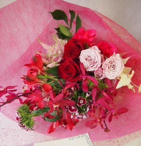 花ギフト|フラワーギフト|誕生日 花|カノシェ話題|スタンド花|ウエディングブーケ|花束|花屋|47426