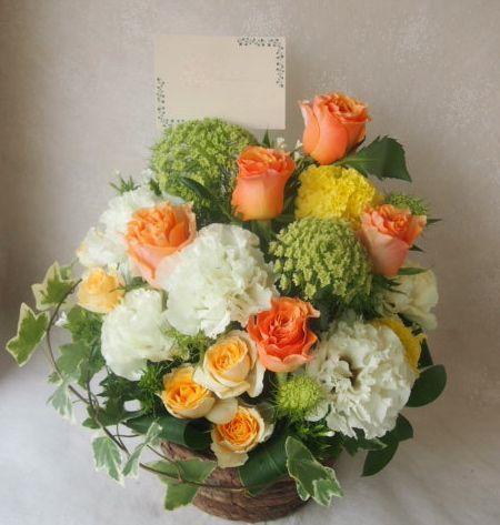 花ギフト|フラワーギフト|誕生日 花|カノシェ話題|スタンド花|ウエディングブーケ|花束|花屋|48453