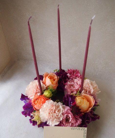 花ギフト|フラワーギフト|誕生日 花|カノシェ話題|スタンド花|ウエディングブーケ|花束|花屋|53436