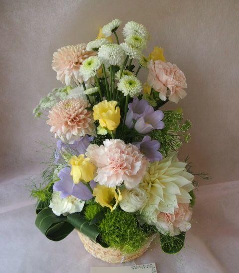 花ギフト|フラワーギフト|誕生日 花|カノシェ話題|スタンド花|ウエディングブーケ|花束|花屋|47178