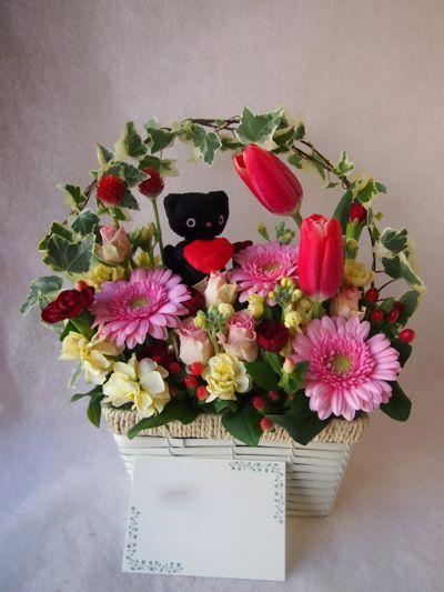 花ギフト|フラワーギフト|誕生日 花|カノシェ話題|スタンド花|ウエディングブーケ|花束|花屋|38190