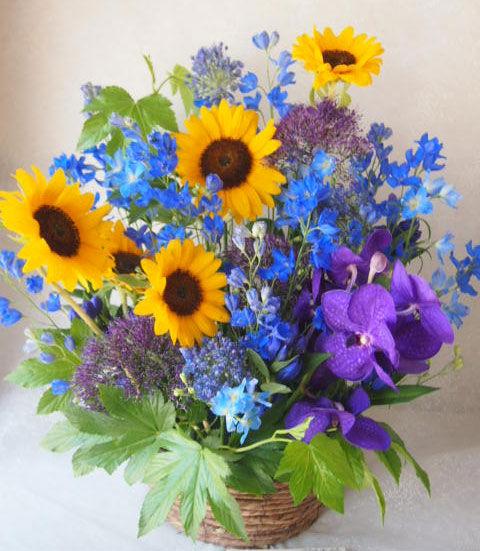 花ギフト|フラワーギフト|誕生日 花|カノシェ話題|スタンド花|ウエディングブーケ|花束|花屋|56238