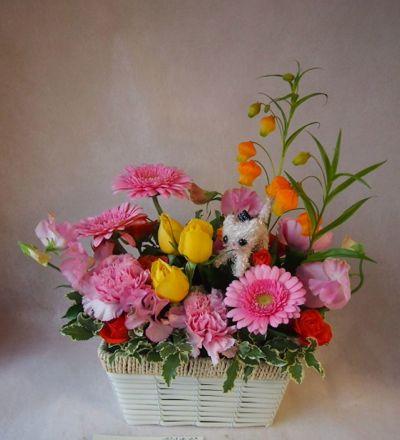 花ギフト|フラワーギフト|誕生日 花|カノシェ話題|スタンド花|ウエディングブーケ|花束|花屋|38148