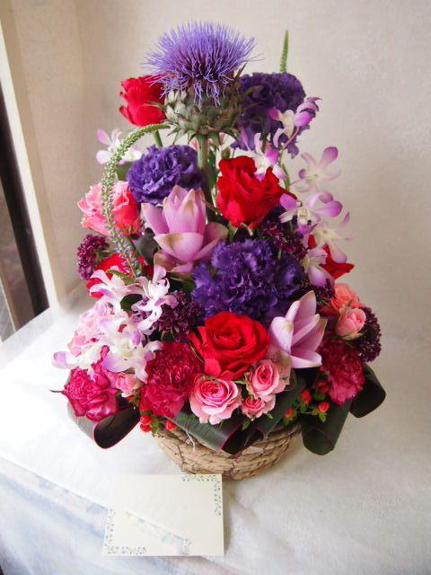 花ギフト|フラワーギフト|誕生日 花|カノシェ話題|スタンド花|ウエディングブーケ|花束|花屋|56852