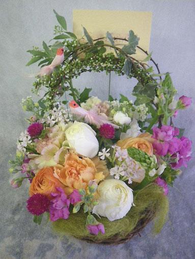 花ギフト|フラワーギフト|誕生日 花|カノシェ話題|スタンド花|ウエディングブーケ|花束|花屋|じゅん 小鳥